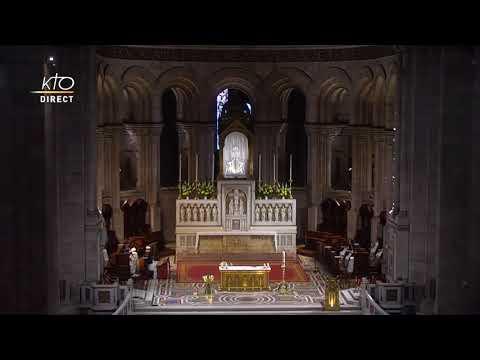Prière du Milieu du jour du 1er mai 2021 des Bénédictines du Sacré-Coeur de Montmartre