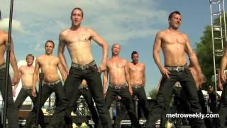 The DC Cowboys at Capital Pride: Lady GaGa medley