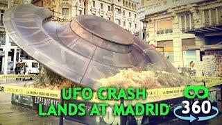 UFO Crash X-Files 360º 4K Virtual Reality #360Video #VirtualReality #VR #360