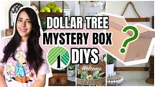 DOLLAR TREE DIYS HOME DECOR 2021 | MYSTERY BOX CHALLENGE