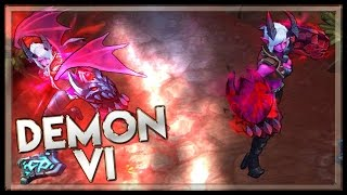 League of legends Demon Vi Jungle Gameplay
