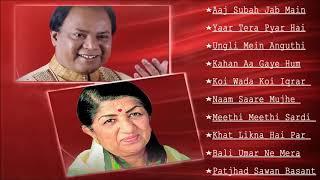 Mohammed Aziz & Lata Mangeshkar Duet Hindi Songs