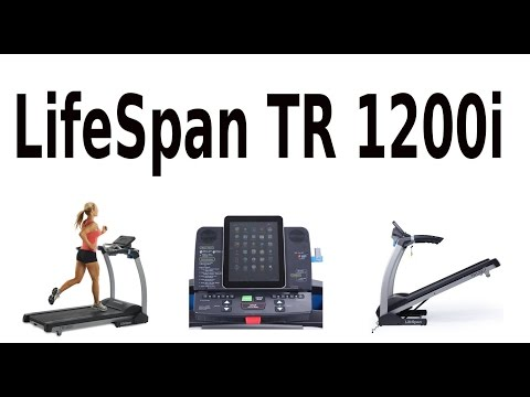 Review of  LifeSpan TR 1200i Folding Treadmill