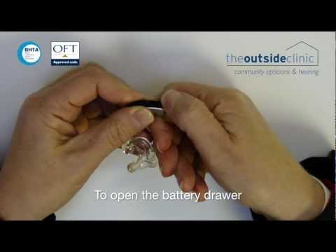 Maintaining a Phonak BTE (Behind The Ear) Hearing Device