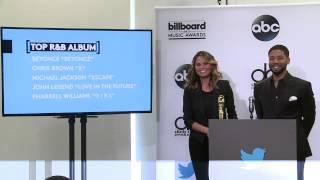 Top R&B Album Finalists - BBMA Nominations 2015