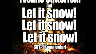 Yvonne Catterfeld mit 'Let it snow! Let it snow! Let it snow!' GUT [Kommentar]