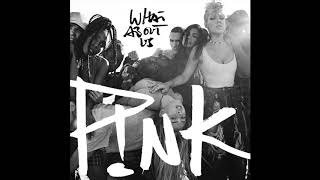P!nk   What About Us (Official Instrumental)