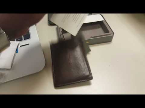 Fossil Wallet for Money
