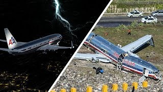 Boeing 737 Crashes After Landing | Racing the Storm | American Airlines Flight 331