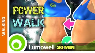 Walk At Home Exercise   20 Minute Fitness Workout