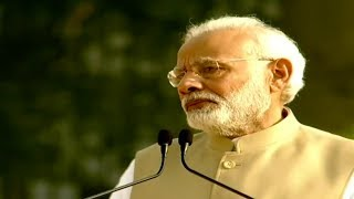 PM Modi gets emotional while remembering sacrifices made by policemen   FULL VIDEO