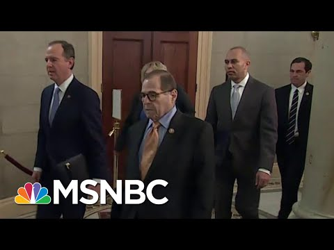 Articles Of Impeachment Officially Delivered To The Senate | MSNBC