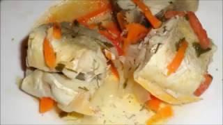Домашний рецепт рыбы.Как приготовить вкусную диетическую рыбу.How to cook delicious diet fish.