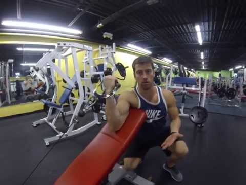 Bicep-Cable 1 Hand Preacher Curl