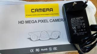 Камера видеонаблюдения BESDER с двухсторонним аудио. Wi-Fi. 2 ИК-светодиода и 2 белых светодиода