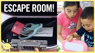 PLAY   ESCAPE ROOM FOR KIDS!