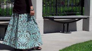 Beautiful Long Skirts From Bahiya Collections