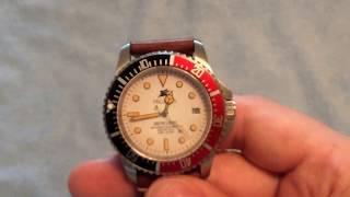 Pegasus Watches Mercurio Automatic Dive Watch Review