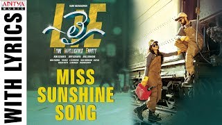 'Miss Sunshine' song from 'LIE'