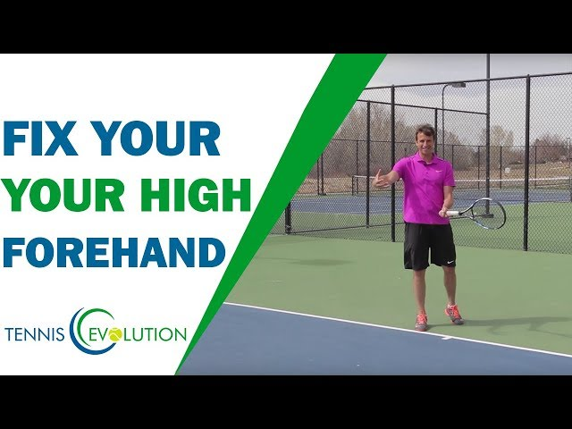 Fix Your High Forehand | TENNIS FOREHAND