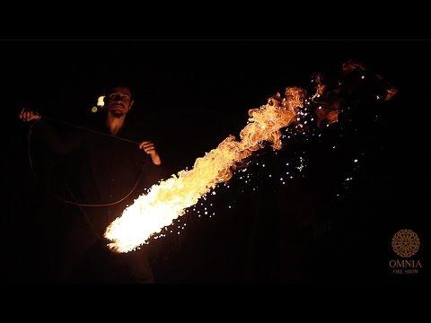 """Відео Вогняне шоу """"OMNIA fire show""""  4"""