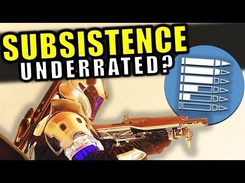 Is Subsistence Underrated? - Perk Breakdown | Destiny 2