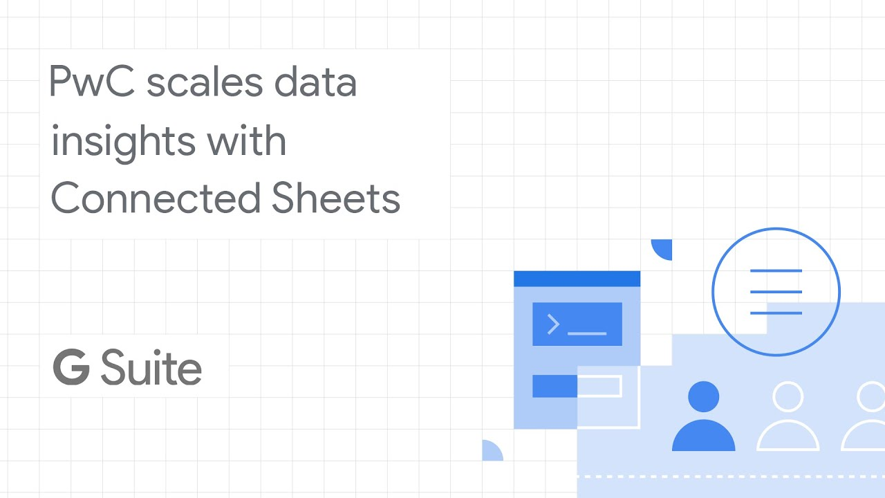 PwC scales data insights across the workforce with Connected Sheets, which enables people to analyze billions of rows of BigQuery data from the familiar Google Sheets interface--without needing SQL knowledge.