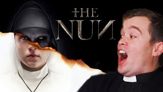 "BRITISH PRIEST Reacts to ""The NUN""!!"