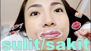 I Tried The CHEAPEST LIP TATTOO (TRY Nyo Rin HAHA)