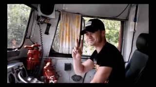 Живой звук! Вид из кабины машиниста тепловоз М62