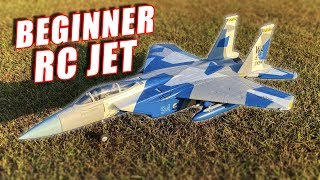 RC Smart Jet - Beginner Easy to FLY F-15 Eagle RC Jet - TheRcSaylors