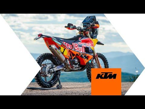 Decouverte de la KTM 450 Rally pour le Dakar 2020