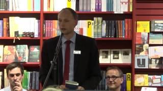 Lieblingsbücherabend OSIANDER Tübingen 13.05.2014 - Christian Riethmüller