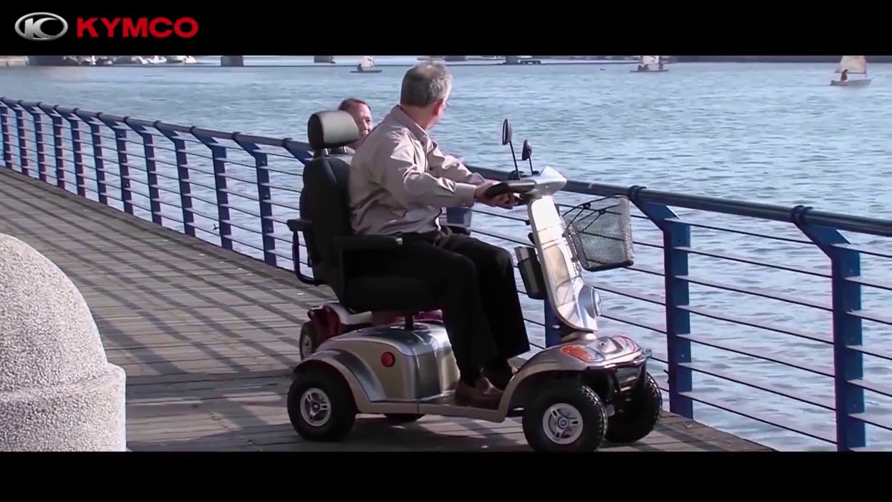 Video von: KYMCO McForest (15 km/h) – Elektromobil