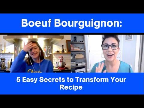 Boeuf Bourguignon: 5 Easy Secrets to Transform Your Recipe