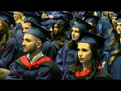 Mount Royal University Convocation 2015: President David Docherty