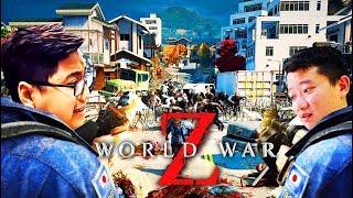 WORLD WAR Z #4: CƠN ÁC MỘNG TẠI NHẬT BẢN !!! Team Đụt ngụp lặn giữa Tokyo =))))