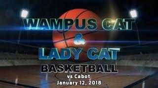 Lady Cats vs Cabot 1/12/18
