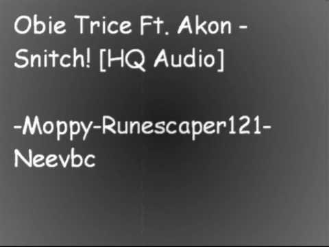 Obie trice ft  Akon - snitch [HQ audio]