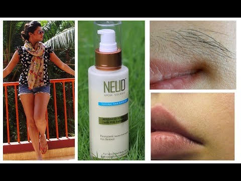 Permanent Freedom From Hair Removal? REVIEW – NEUD Natural Hair Inhibitor | Sushmita's Diaries