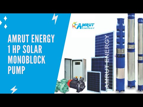 1 HP Solar Submersible Pump