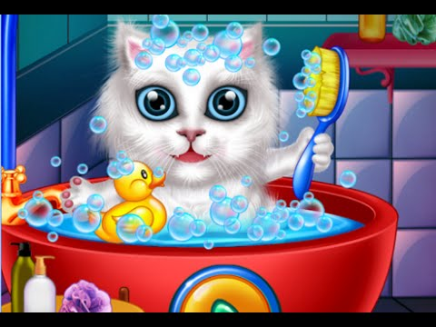 Wash and Treat Pets Kids Game Android İos Free Game GAMEPLAY VİDEO