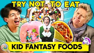 Can YOU Resist Eating Childhood Fantasy Foods?