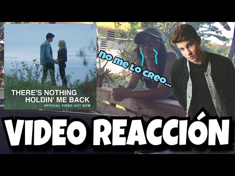 There's Nothing Holdin Me Back (VIDEO REACCIÓN) | Alondra Michelle