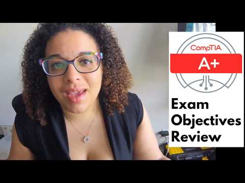 CompTIA A+ Exam Objectives Review - YouTube