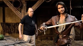 Luke Pasqualino tells us the secrets behind the special effects - The Musketeers - BBC One