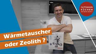 Wärmetauscher oder Zeolith? Welche Art der Trocknung ist bei Bosch, Siemens und Neff besser?