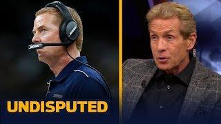 Jason Garrett's poor motivational skills keep hurting the Cowboys — Skip Bayless | NFL | UNDISPUTED