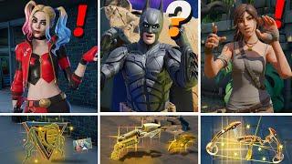 ALL NEW Bosses, Mythic Weapons & Keycard Vault Locations (Boss Batman, Harley Quinn, Lara Croft)