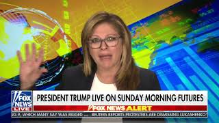 Maria Bartiromo Interviews Donald Trump